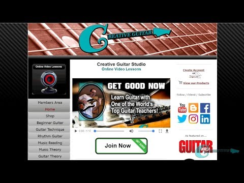 CREATIVE GUITAR ONLINE COURSE