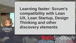 Learning faster - Agile Singapore Conference 2016