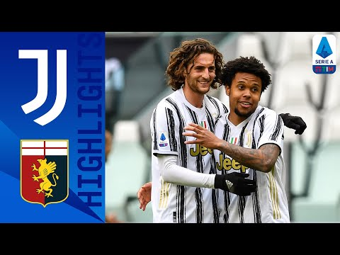 Juventus 3-1 Genoa | Kulusevski, Morata and McKennie All Score in Juve Win! | Serie A TIM