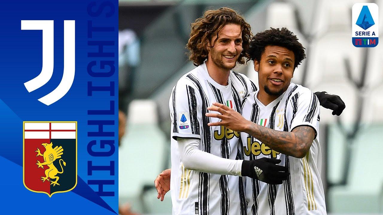 Juventus 3-1 Genoa   Kulusevski, Morata and McKennie All Score in Juve Win!   Serie A TIM