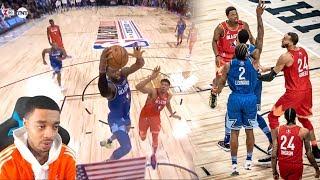 FlightReacts 2020 NBA All-Star Game - Full Game Highlights - Team LeBron vs Team Giannis!