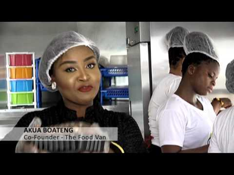 The Mobile Kitchen with Tasty Meals - Joy Business Van on Joy News (27-1-17)