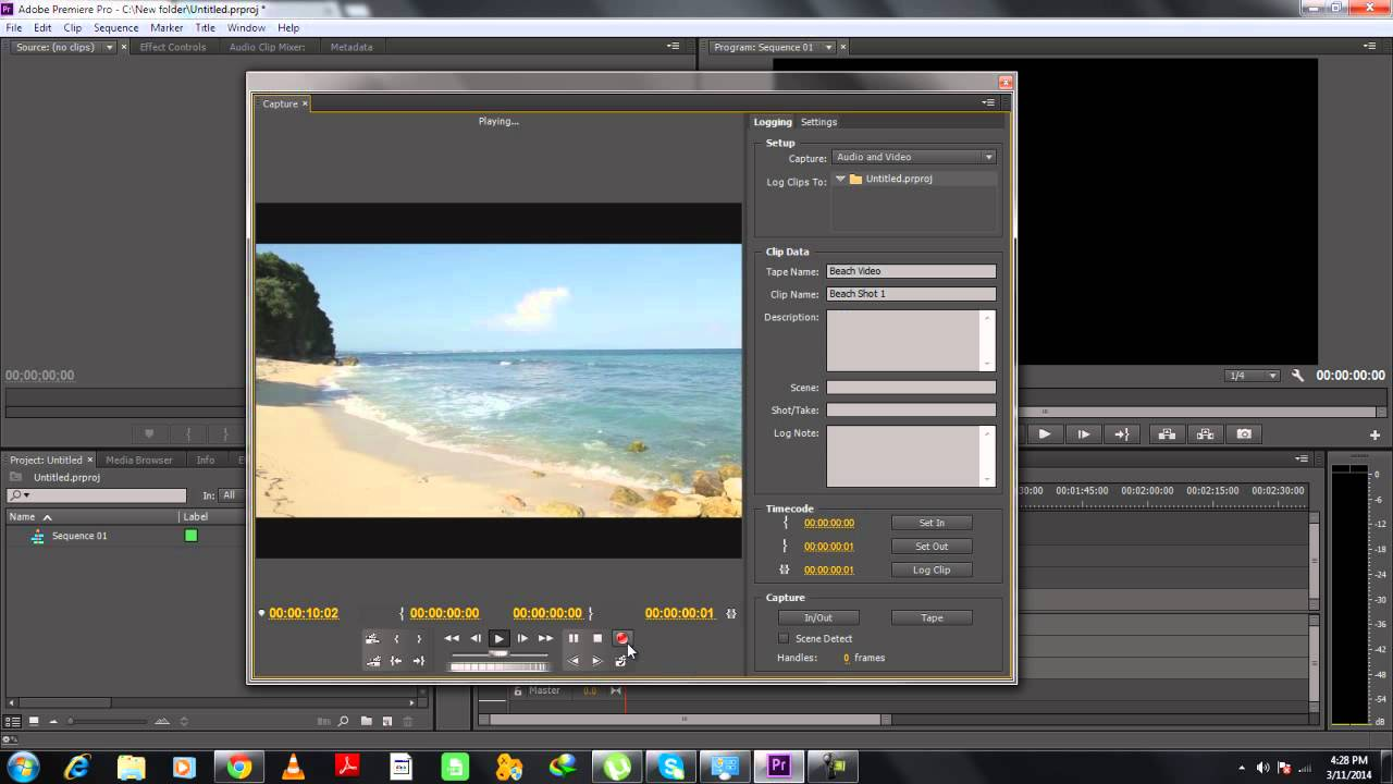 how to put a youtube video in premiere pro