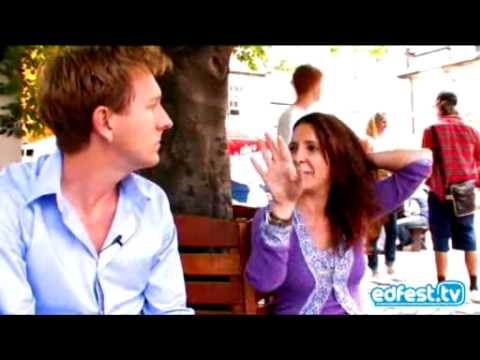 Lucy Porter Interviewed for EdFest.tv in 2008