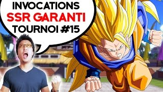 DBZ DOKKAN BATTLE - Invocations SSR GARANTI du tournoi 15 thumbnail