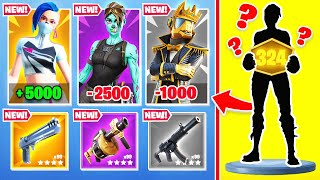 *NEW* Random Skin CHALLENGE (Fortnite Ranked Arena)
