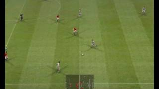 Pro Evolution Soccer 2009 Gameplay 8400gs