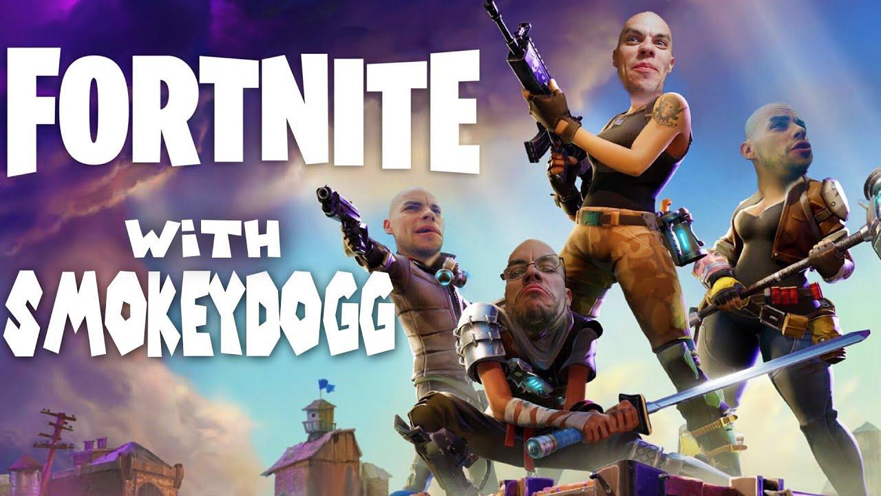 Smokeydogg Plays Fortnite #4