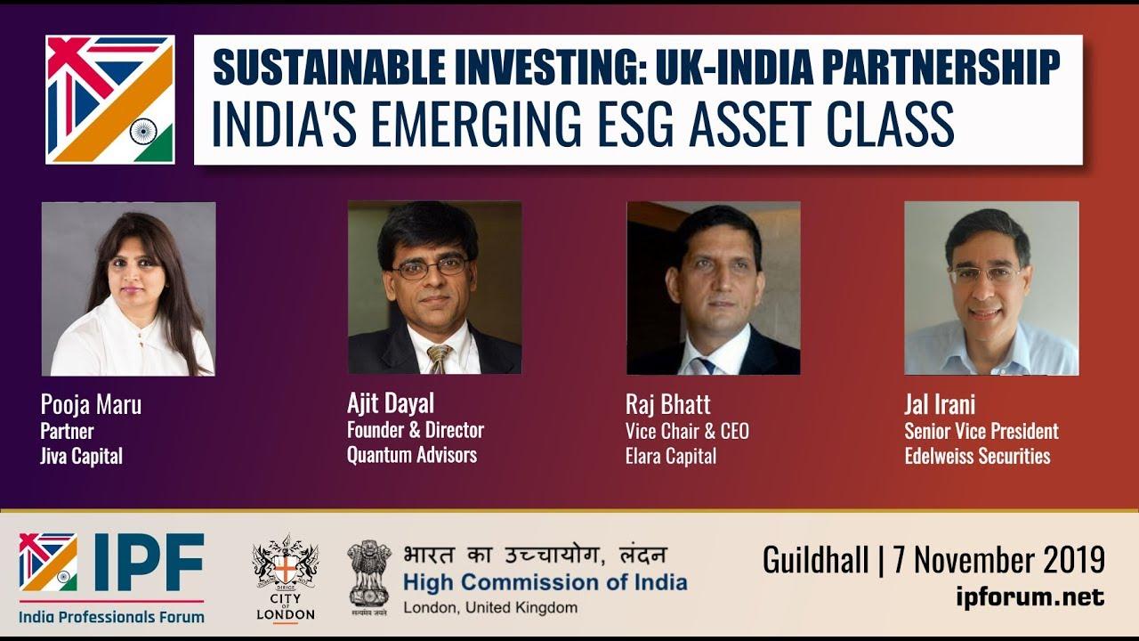 India's Emerging ESG Asset Class