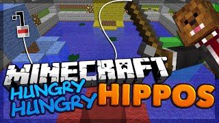 Minecraft Hungry Hungry Hippos Minigame