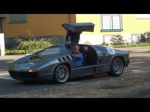 (HD) Isdera Imperator 108i On The Road