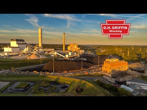 Duke Energy's Cliffside Implosion by DH Griffin