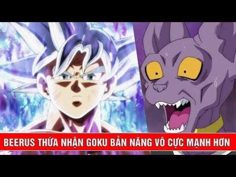 Goku Master Ultra Instinct vượt qua sức mạnh của thần hủy diệt Beerus - Tiết lộ Dragon Ball Super thumbnail