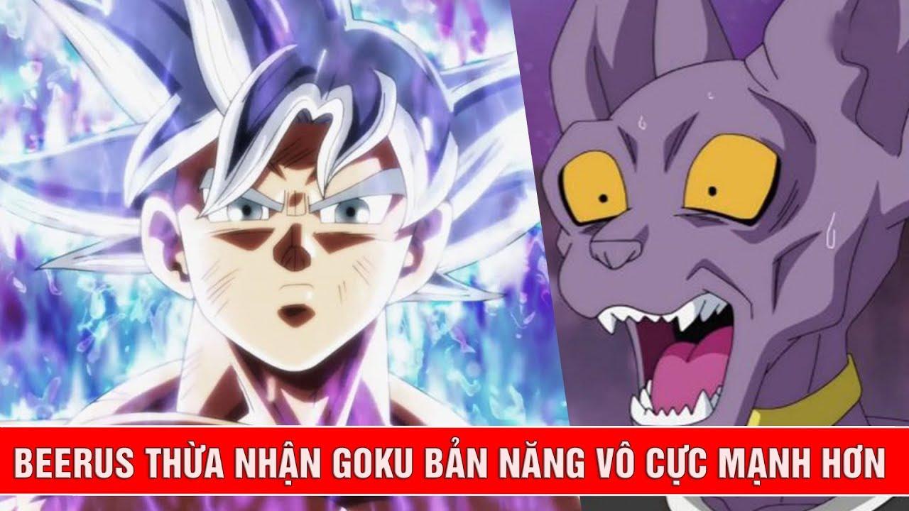 Goku Master Ultra Instinct vượt qua sức mạnh của thần hủy diệt Beerus - Tiết lộ Dragon Ball Super