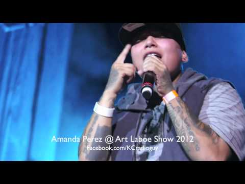 Amanda Perez at Art Laboe Show Concert 2012 with 99.1 KGGI