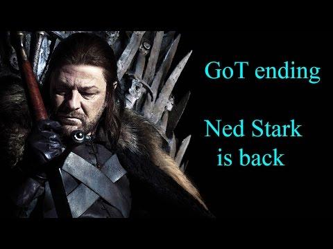 Game of Thrones ending. Ned Stark is back