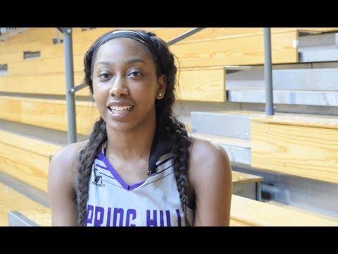 Student Profile: SHC Basketball Player, Jewel Hill ('18)