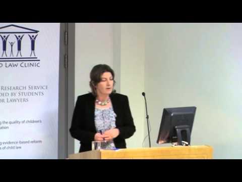 Child Law Conference 2012 - Prof Ursula Kilkelly
