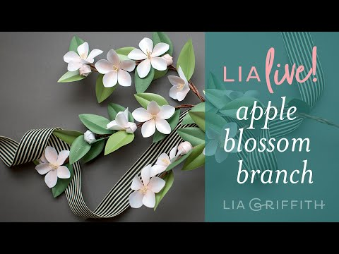 DIY Paper Apple Blossom
