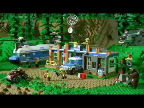 LEGO City Police Heavy Lift Helicopter 4439 - YouTube