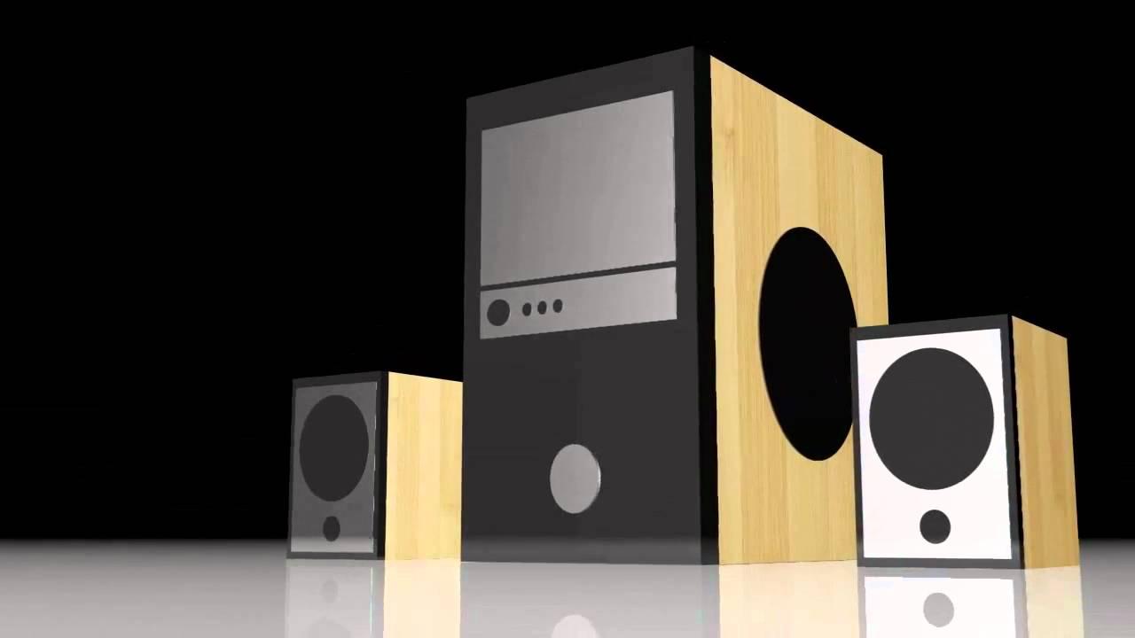 2 1 speaker system test youtube. Black Bedroom Furniture Sets. Home Design Ideas