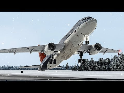 Airbus A320 Takes