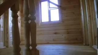 видео Полутораэтажные дома из бруса