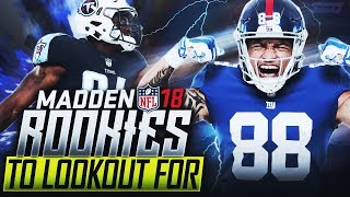 Madden 18 Rookies: Top 10 to Look Out For - Part 1