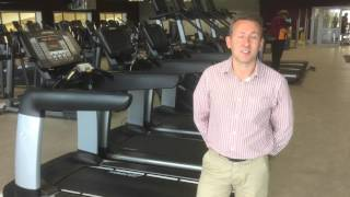Newark Sports and Fitness Centre: Andy Carolan