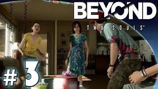 """Let's Play: Beyond Two Souls (PS3) odc. 3 - Impreza - """"Szansa"""""""