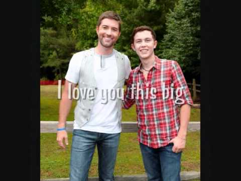 Scotty McCreery - I Love You This Big (with lyrics)