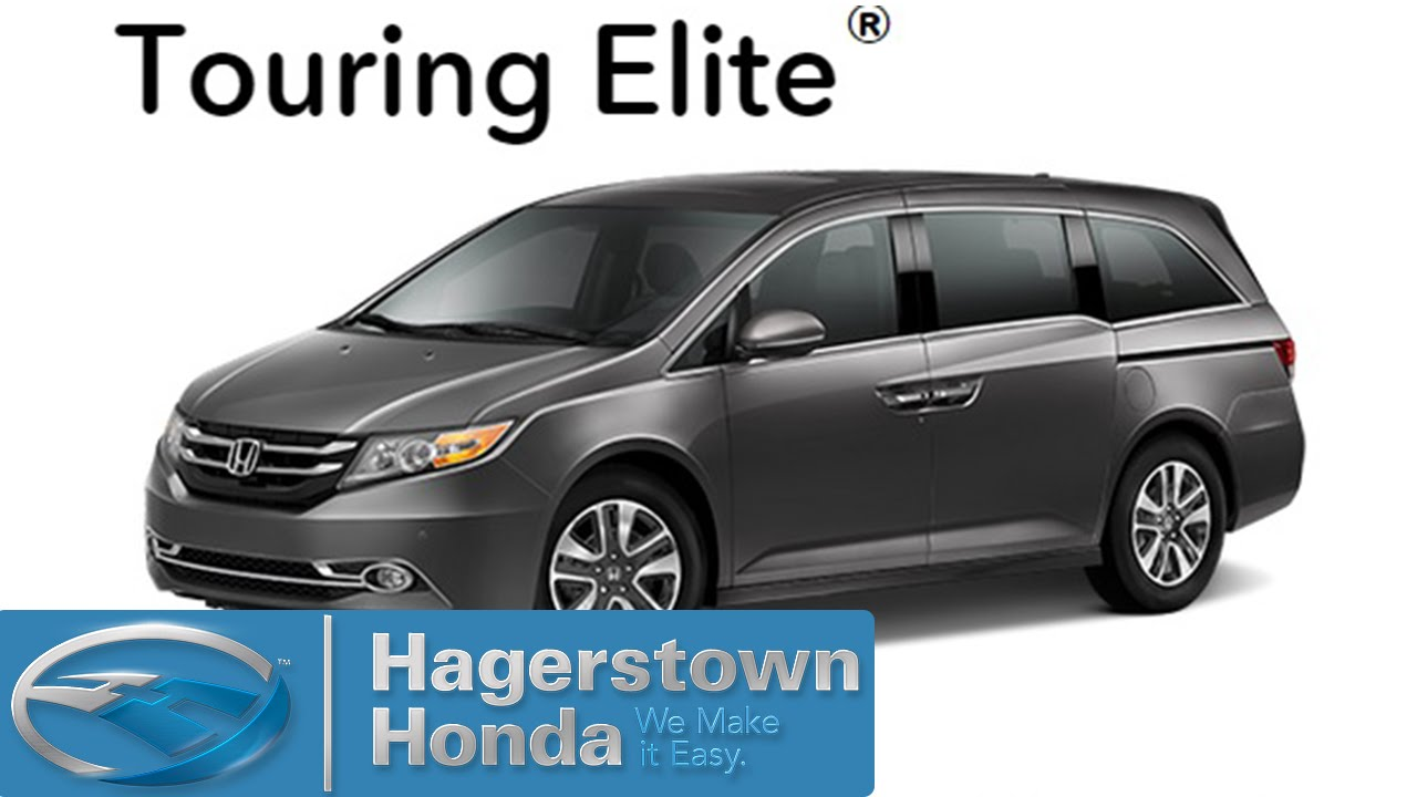 Nice 2016 Honda Odyssey Touring Elite Colors   Hagerstown Honda   YouTube