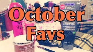 October Favs!!! Thumbnail