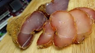Курица в компе - вяленое мясо в домашних условиях (эксперимент)