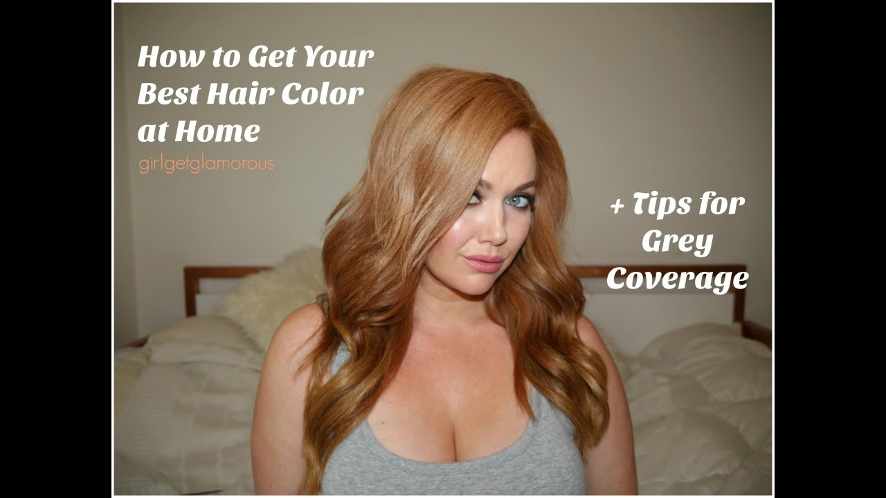 How To Get Your Best At Home Hair Color My Strawberry Blonde