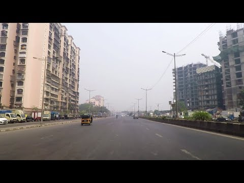 Driving in Mumbai (Chembur to Powai) - Maharashtra, India