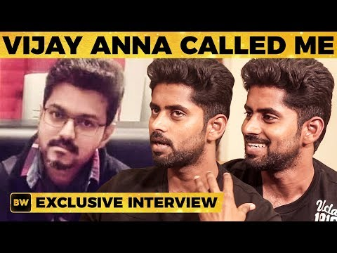Thalapathy 63 Actor Kathir's Unexpected Moment with Vijay | MY 425
