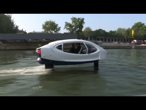 'Sea Bubbles' undertake new tests on the Seine