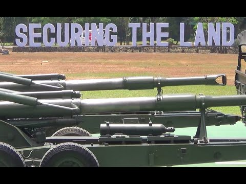 PH army shows assets in 119th anniv