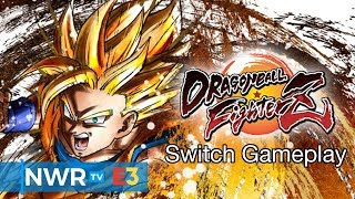DRAGON BALL FighterZ (Switch) Off-screen Footage
