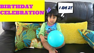 Toddler Birthday vlog | Birthday ideas for toddler | Fun with kids