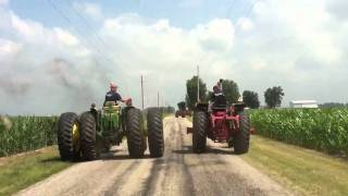 Tractor Drag Race