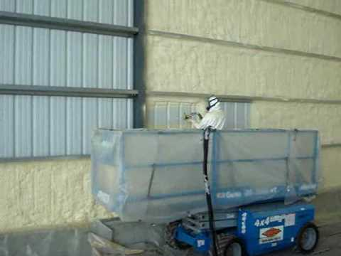 Spray foam insulation metal building youtube solutioingenieria Choice Image
