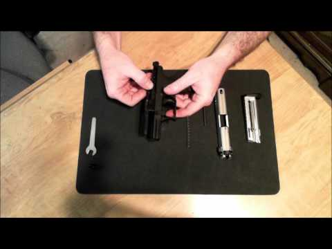 Walther P22 Breakdown & Reassembly