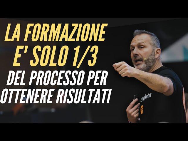 BUSINESS ONLINE: LA FORMAZIONE E' SOLO 1/3 DEL PROCESSO