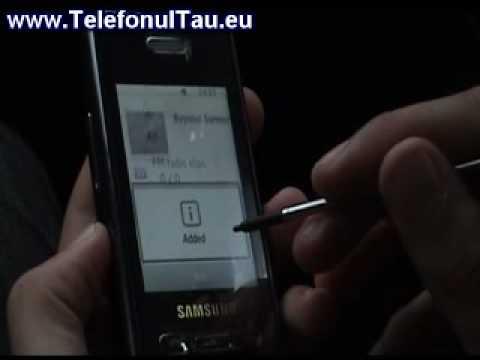 Samsung D980 review ( romanian )