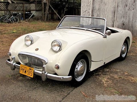 1958 Austin Healey Bugeye Sprite Roadster For Sale Youtube