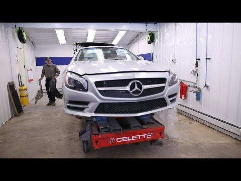 Baltimore's First Mercedes-Benz Aluminum Certified Collision Center
