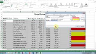 Excel Tipps und Tricks #50 Nach Formatierungen, Zellensymbolen & Spalten sortieren