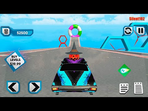 Bull Car Racing Stunts: Mega Ramp Car Games 2020 #3 - Android Gameplay